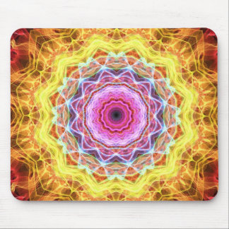 Pink Passion  kaleidoscope Mouse Pad