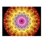 Pink Passion  kaleidoscope Post Cards