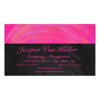 Pink Passion Personalized Business Card