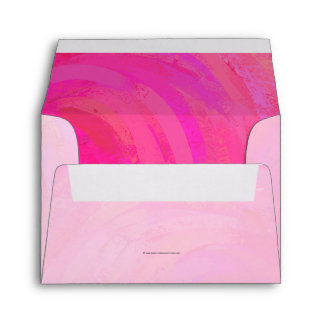 Pink Passion Personalized Envelope