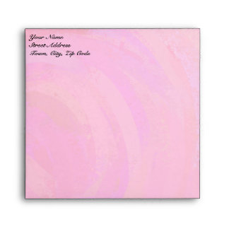 Pink Passion Personalized Envelopes