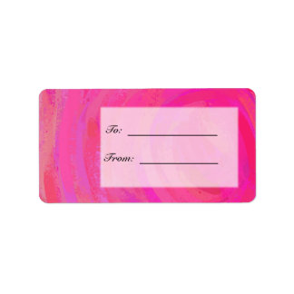 Pink Passion Personalized Personalized Address Label