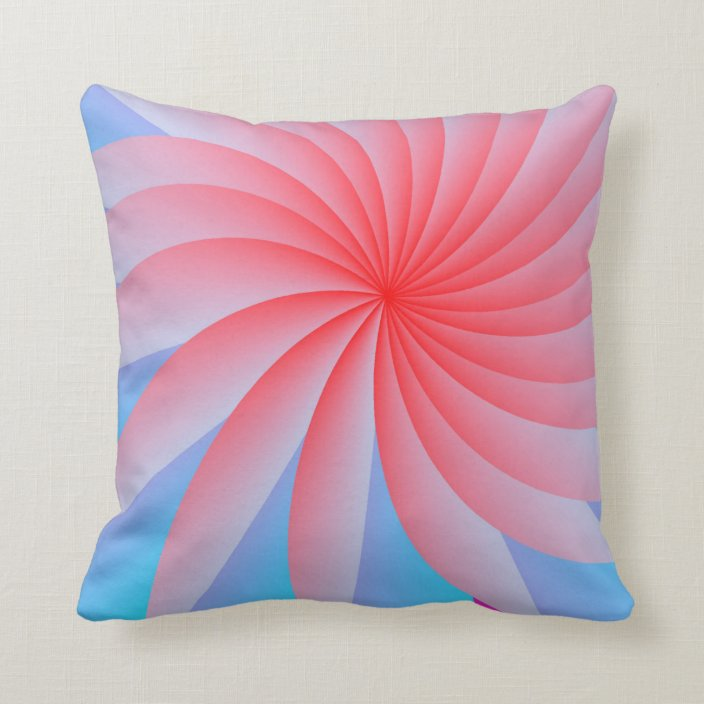Pink Passion Throw Pillow Zazzle Com