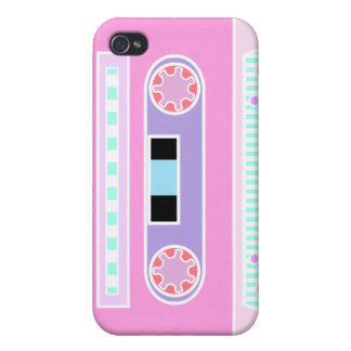 Pink Pastel Cassette iPhone 4/4S Cover