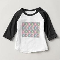 pink pattern baby T-Shirt