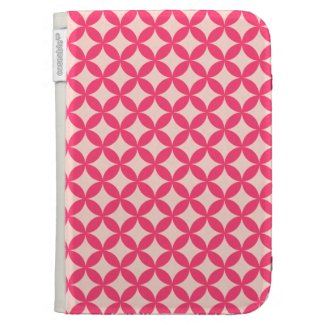 Pink Pattern Case For The Kindle