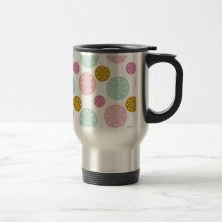 Pink Pattern Kitchen Decor Accessories Travel Mug