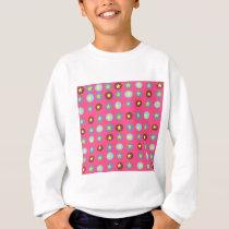 Pink Patterned Sweatshirt