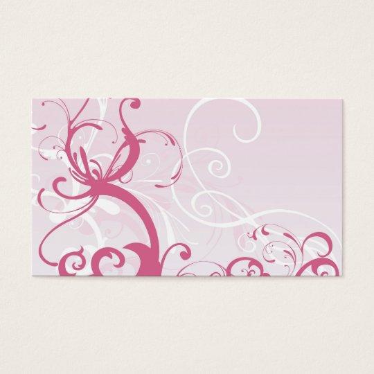 Pink patterns Profile Card