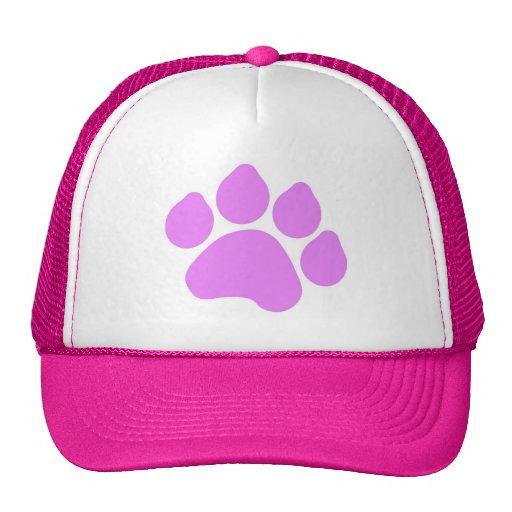 Pink Paw Print Hat