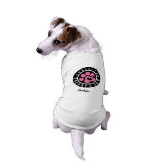 Pink Paw Therapy Dog T-Shirt