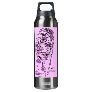 Pink Paws Lilly Thermos Bottle