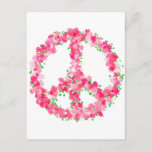 Pink Peace Flowers