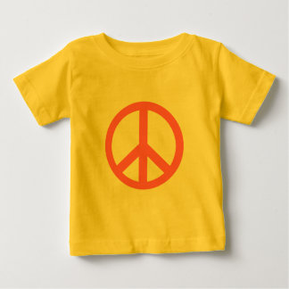 Pink Peace Sign Products Baby T-Shirt