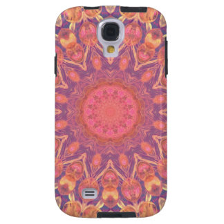 Pink Peace Wheel, Abstract Soft Dusty Rose Galaxy S4 Case