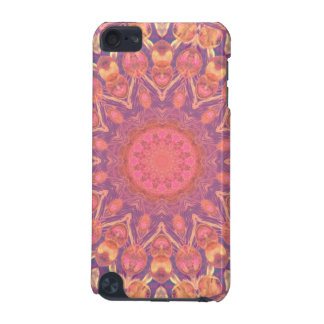 Pink Peace Wheel, Abstract Soft Dusty Rose iPod Touch 5G Case