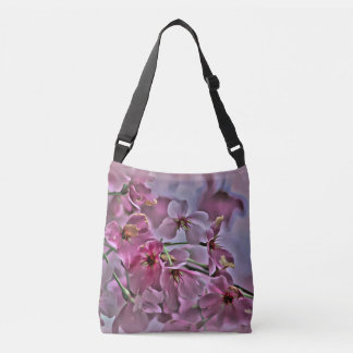 Pink Peach Blossom tote and Crossbody Bag