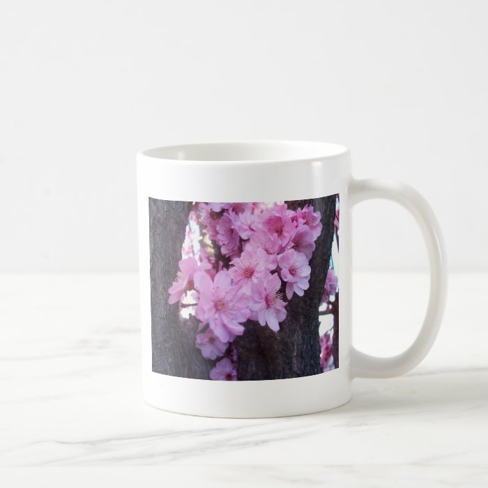 Pink Peach Blossoms Coffee Mug