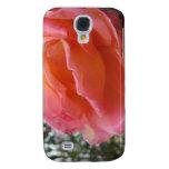 Pink Peach Rose Samsung Galaxy S4 Cover