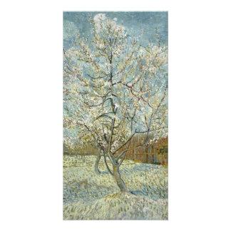 Pink Peach Tree by Vincent Van Gogh Card
