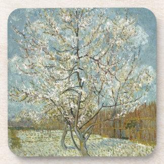 Pink Peach Tree by Vincent Van Gogh Coaster
