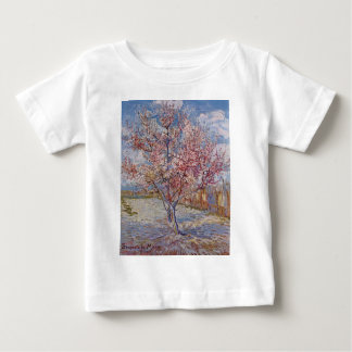 Pink Peach Tree in Blossom (Reminiscence of Mauve) Baby T-Shirt