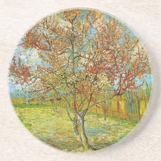 Pink Peach Tree in Blossom Reminiscence of Mauve Coaster