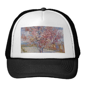 Pink Peach Tree in Blossom (Reminiscence of Mauve) Trucker Hat