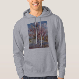 Pink Peach Tree in Blossom (Reminiscence of Mauve) Hoodie
