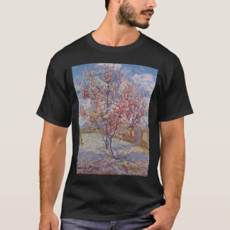 Pink Peach Tree in Blossom (Reminiscence of Mauve) T-Shirt