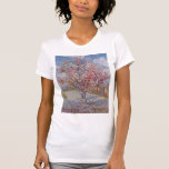Pink Peach Tree in Blossom (Reminiscence of Mauve) Tshirt