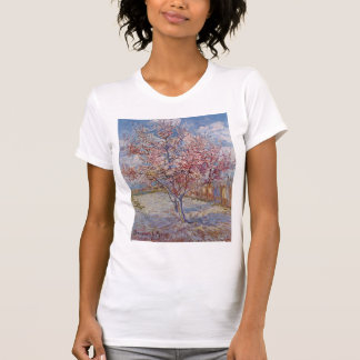 Pink Peach Tree in Blossom (Reminiscence of Mauve) T Shirts