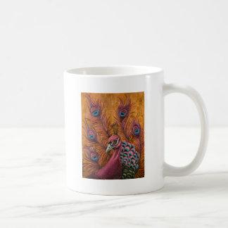 Pink Peacock Coffee Mug