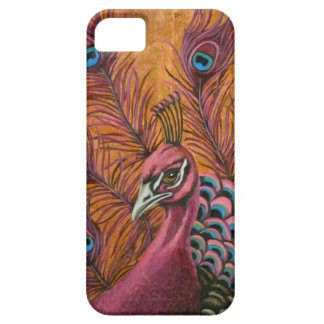 Pink Peacock iPhone SE/5/5s Case