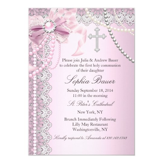 First Holy Communion Invitations Announcements Zazzle