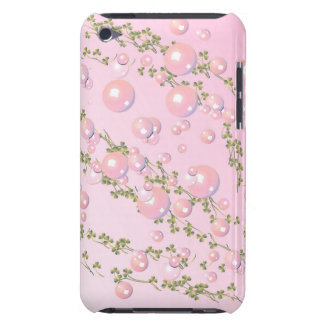 pink pearl Case-Mate Case Barely There iPod Covers