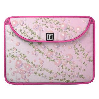 pink pearl Flap Sleeve