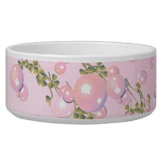 pink pearl Pet Bowl