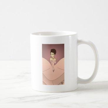 jasmineflynn Pink Pearl Princess Coffee Mug