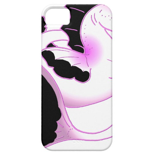 Pink Pearl Seahorses iPhone SE/5/5s Case