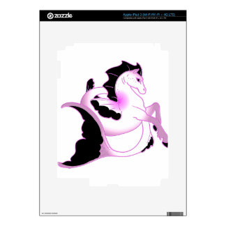 Pink Pearl Seahorses Skin For iPad 3
