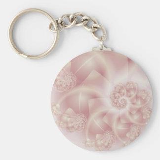 Pink Pearls Keychain