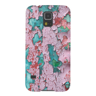 Pink  Peeling Paint Galaxy S5 Cover