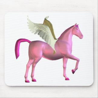 Pink Pegasus Mousepad