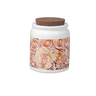 pink pencil rose cookie jar candy jars