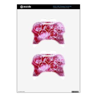 Pink Peoney Xbox 360 Controller Skin