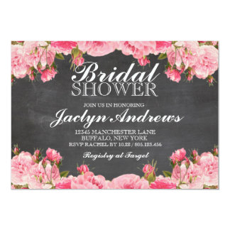 Pink Peonies Everywhere | Bridal Show Invitation