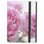 pink peonies iPad Powis kickstand case Cover For iPad Air