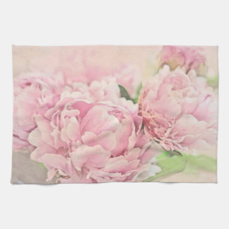 Pink Peonies Towel