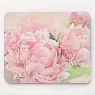 Pink Peonies Mouse Pad